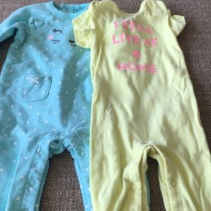 Carters 6m one piece